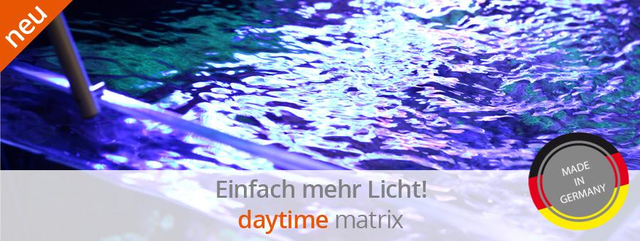 Daytime matrix LED Beleuchtung Meerwasser
