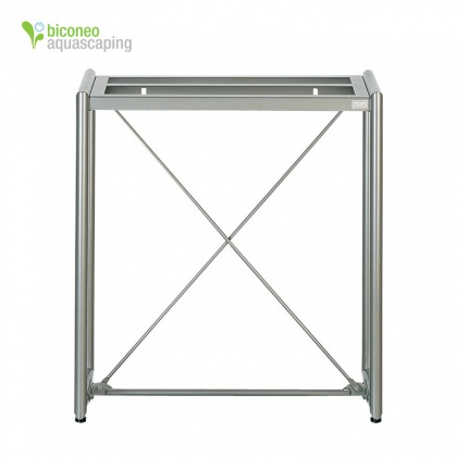 Garden Stand-60 Regal, Metalic Silver
