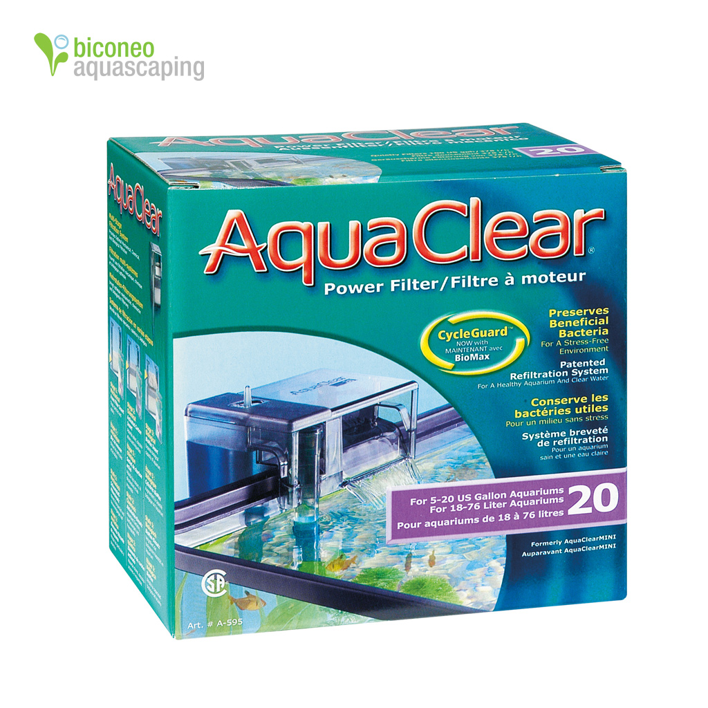 Aquaclear Powerfilter 20 Hang On Filter