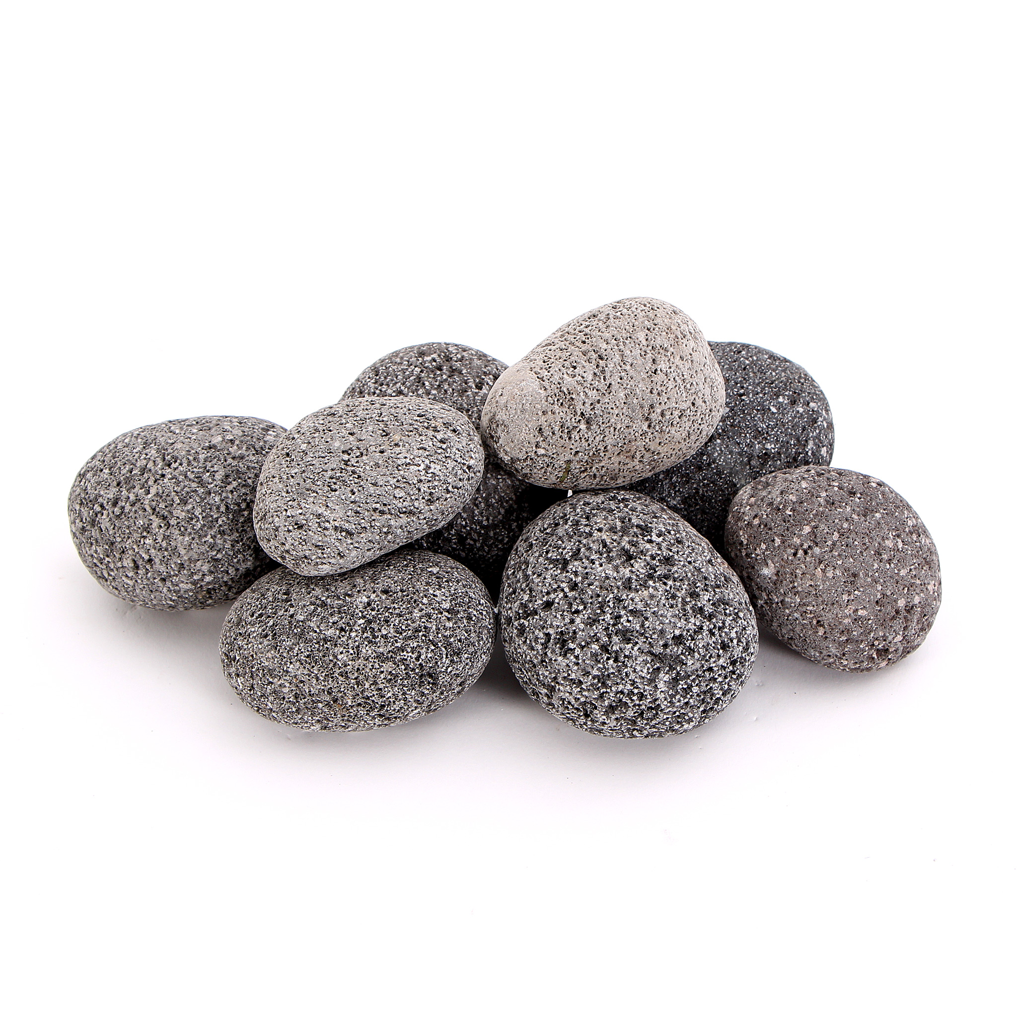 Deko Steine Aquarium: Black Pebble Nano Pebbles