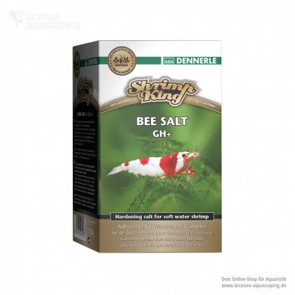 Dennerle Shrimp King Bee Salt GH+, 200g