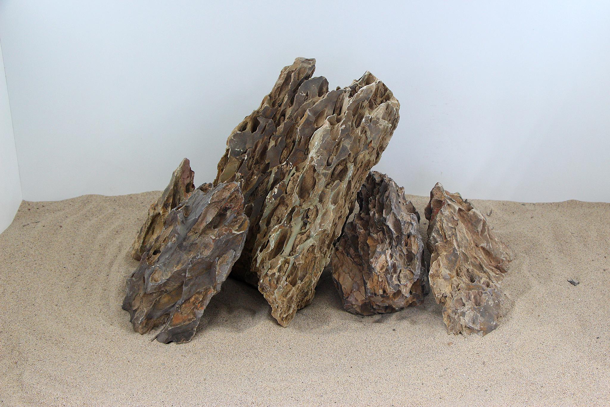 drachenstein set f r ca 60 liter aquarium. Black Bedroom Furniture Sets. Home Design Ideas