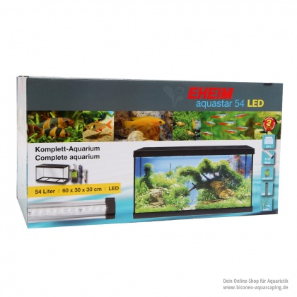 EHEIM aquastar 54 LED Aquarium Komplettset
