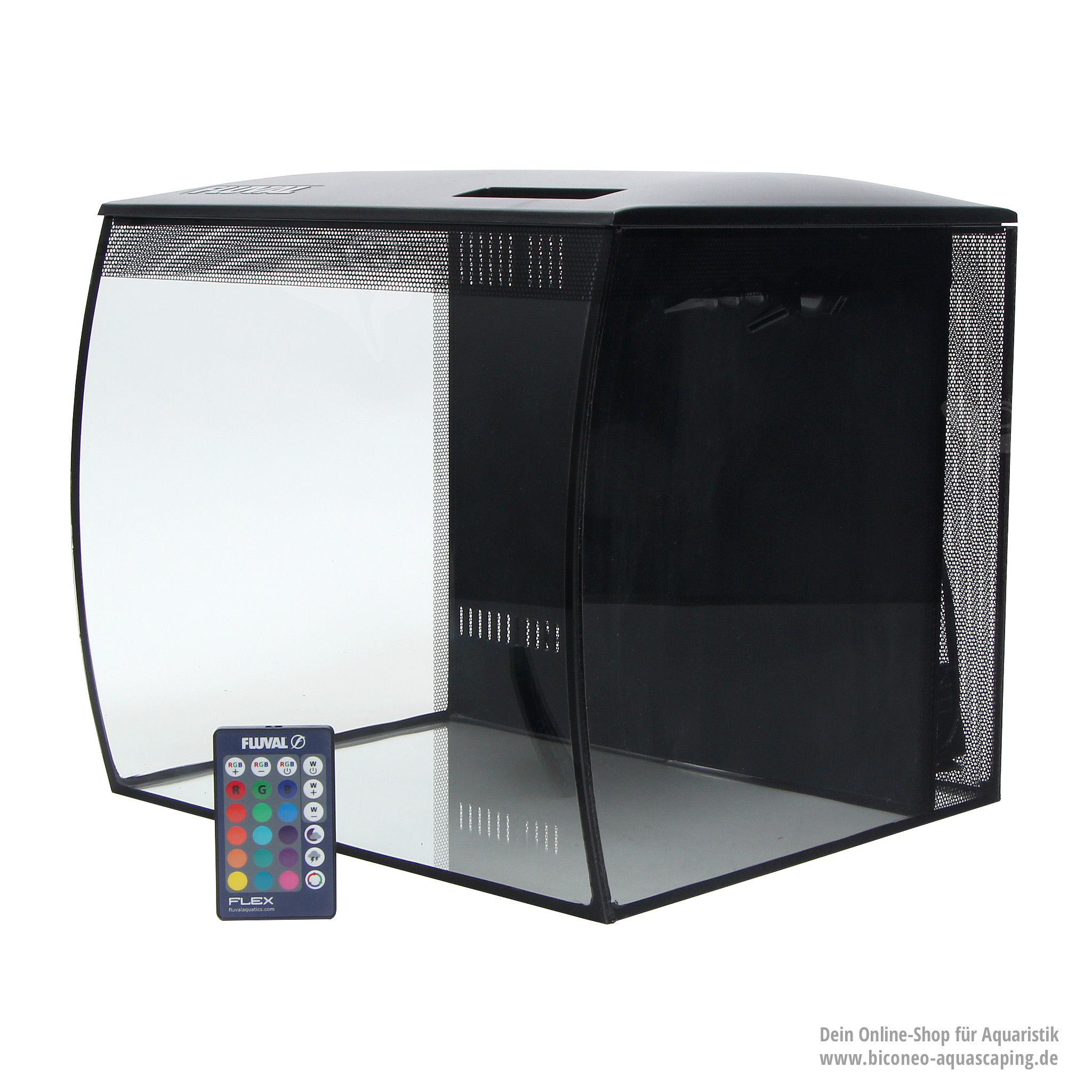 fluval flex aquarienset 34l. Black Bedroom Furniture Sets. Home Design Ideas