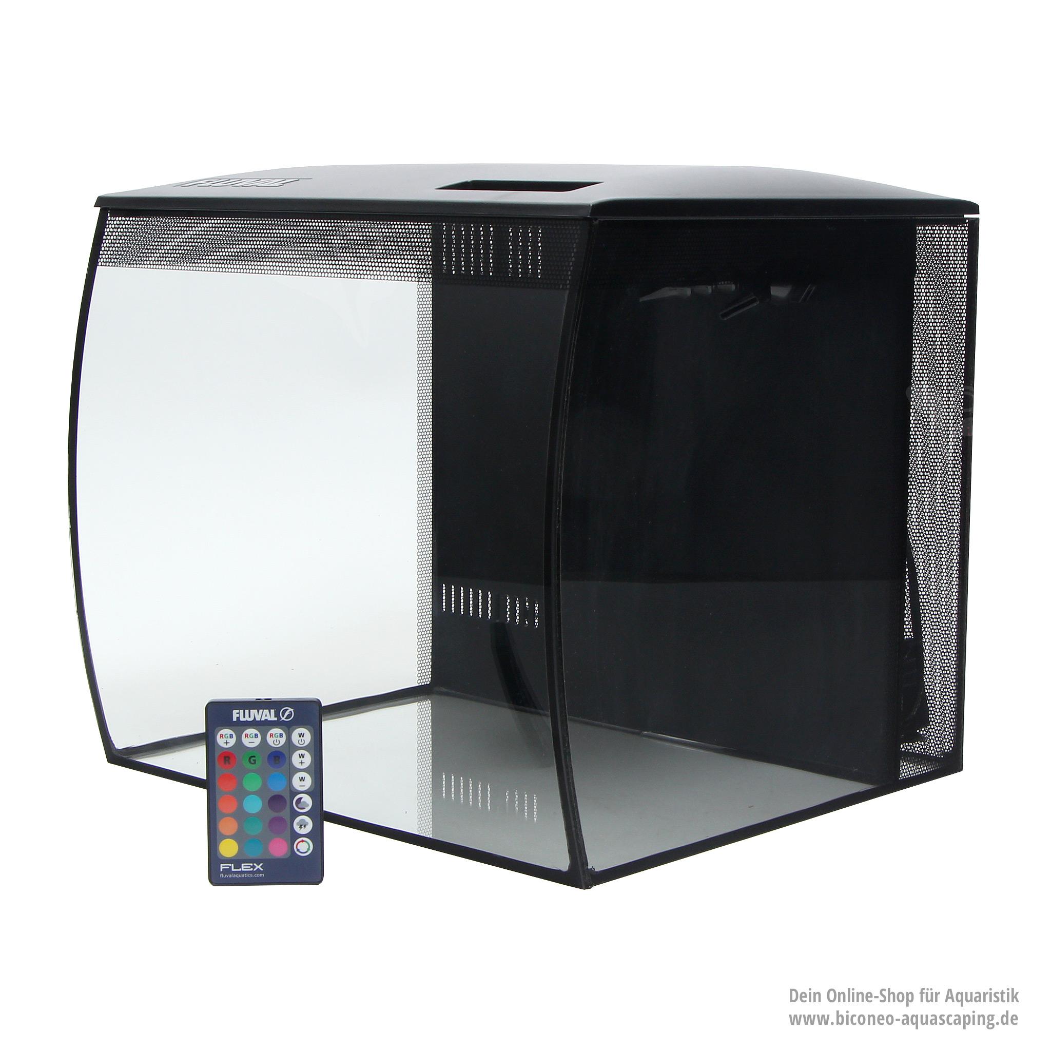 fluval flex 57l aquarium komplettset. Black Bedroom Furniture Sets. Home Design Ideas