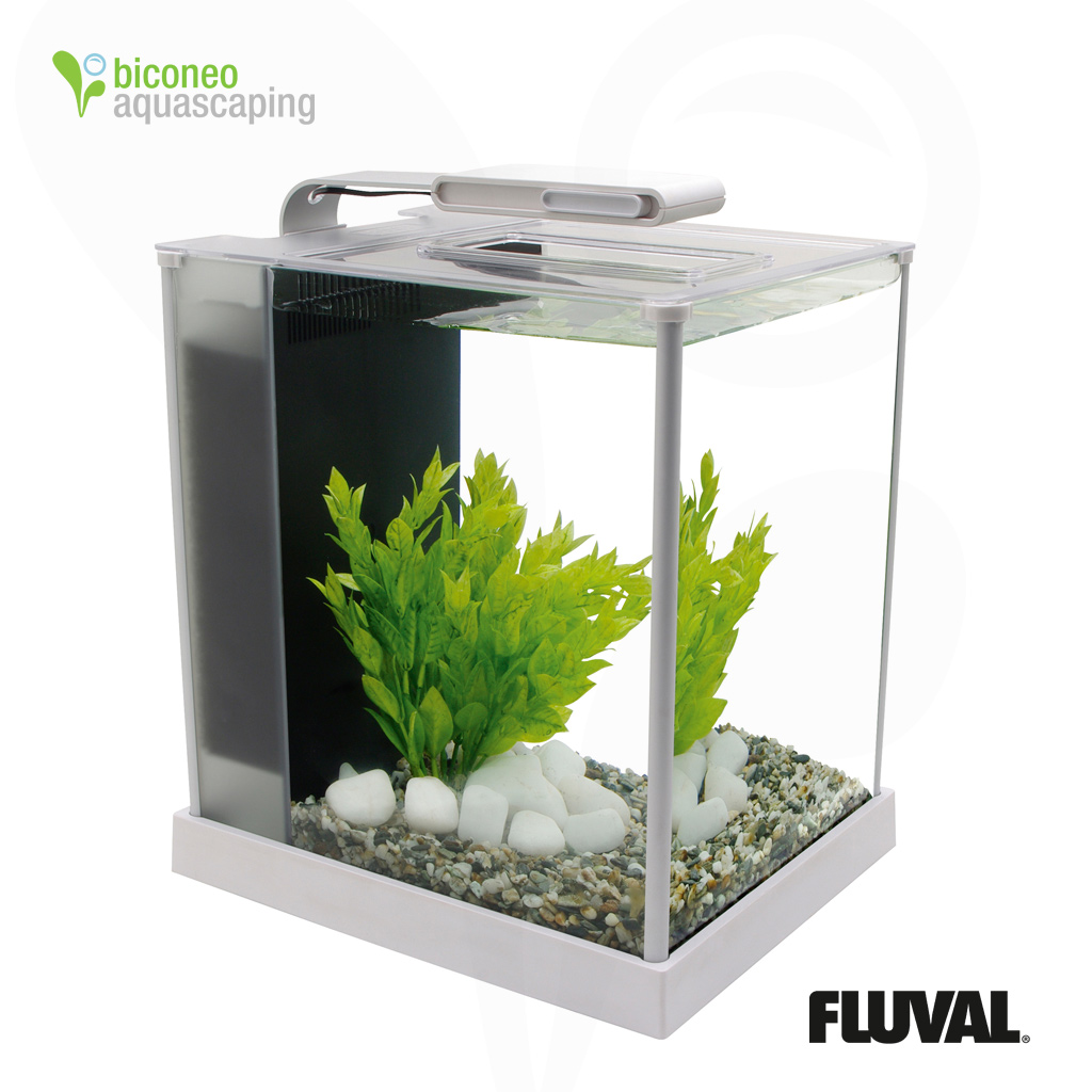 Nano Aquarium. aquarium glass fish tank 4 gallons 10 x 10 x 10 led ...