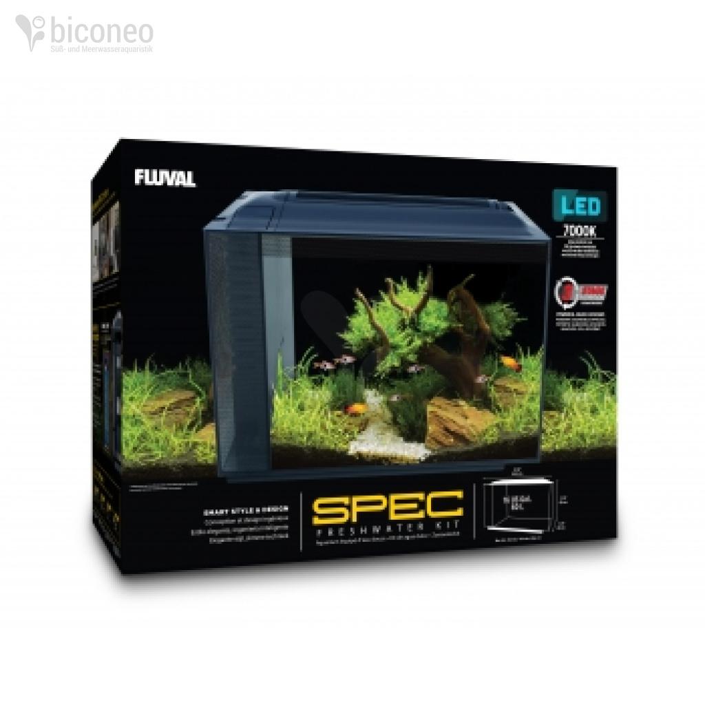 fluval spec xv 60 liter aquarium komplettset mit led leuchte. Black Bedroom Furniture Sets. Home Design Ideas