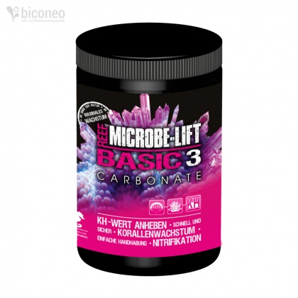 Microbe Lift Basic 3 - Carbonate KH, 1000g